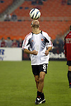 30 October 2004: Earnie Stewart. DC United defeated the MetroStars 2-0 at RFK Stadium in Washington, DC in the second leg of their Major League Soccer Eastern Conference Semifinal playoff series. United eliminated the MetroStars 4-0 on aggregate goals..