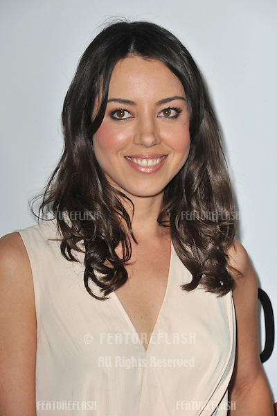 "Aubrey Plaza at the world premiere of ""This Is 40"" at Grauman's Chinese Theatre, Hollywood..December 12, 2012  Los Angeles, CA.Picture: Paul Smith / Featureflash"