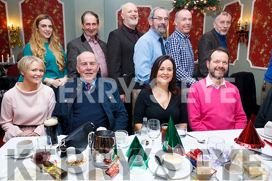The staff from the ETB Training Centre in Monavalley enjoying their Christmas Party in the Imperial Hotel on Friday night last. Seated l-r, Eilleen O'Sullivan, John Dillion, Catherine Kennedy and John Doherty.<br /> Back l-r, Niamh Colbert, John Quill, Chris Foley, Paudie Diggin, Donal Curtain and Mike Foley.