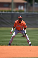 Houston Astros Jeffry Santos (57) during a minor league spring training game against the Atlanta Braves on March 29, 2015 at the Osceola County Stadium Complex in Kissimmee, Florida.  (Mike Janes/Four Seam Images)