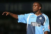 Nathan Ashton of Wycombe Wanderers, former Charlton and Fulham player who represented England at U19 level during Wycombe Wanderers vs Birmingham City, Carling Cup Football at Adams Park on 13th August 2008