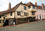 Fifteenth century bookshop, Lewes, East Sussex, England