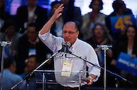 SAO PAULO, SP, 24 JUNHO 2012 - CONVENÇAO PSDB  Governador de Sao Paulo, Geraldo Alckmin durante convenção do PSDB para lancamento da candidatura do tucano José Serra no Ginásio Mauro Pinheiro (Ibirapuera) nesse domingo, 24. FOTO: VANESSA CARVALHO - BRAZIL PHOTO PRESS.