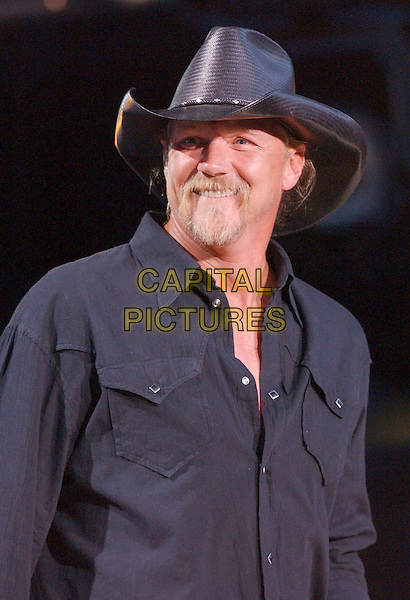 TRACE ADKINS.2007 CMA Music Festival held at LP Field, Nashville, Tennessee, USA..June 7th, 2007.headshot portrait stage concert live gig performance music black stetson hat .CAP/ADM/GS.©George Shepherd/AdMedia/Capital Pictures