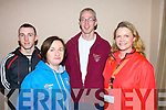 At the ITT FITTSPORT Convention at the Carlton Hotel on Friday were, from left: Wayne Murphy, Teresa Richardson, Co-ordinator of FITTSPORT, Malachy Kelly, former student of ITT and gym instructor at the Carlton Hotel and Catherine Carty, ITT lecturer.
