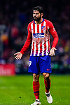 Diego Costa of Atletico de Madrid gestures during the La Liga 2018-19 match between Atletico Madrid and FC Barcelona at Wanda Metropolitano on November 24 2018 in Madrid, Spain. Photo by Diego Souto / Power Sport Images