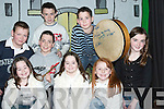 GALA: Performers in the Gala Charity Concert in Asdee Hall in aid of The Catholic Church (Orsk, Russia) on Thursday night were, front l-r: Christine and Ellen Tydings, Saoirse Doyle and Aisling Kelly. Back l-r: Kieran Mulvihill, Ryan Henry, Kieran Kelly and Michael Tydings..