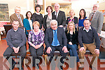 Retirement Party : Jim Fitzgerald, Moyvane celebrating his retirement from the     Community Service Support with family & friends at Allo's Restaurant, Listowel on Friday night last. Front : Pat, Betty, Jim, Mary & John Fitzgerald. Back : Sean Murphy, Susanne Fitzgerald, Norma Keane, Nora Brassil, Pat Hickey, Michelle Moore, Trish Fitzgerald & Terry Boyle.