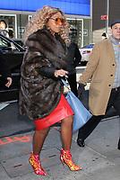 FEB 14 Mary J. Blige seen at Good Morning America