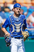 Cody Clark May 5th, 2010; Oklahoma CIty Redhawks vs Omaha Royals at historic Rosenblatt Stadium in Omaha Nebraska.  Photo by: William Purnell/Four Seam Images