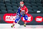 Stockholm 2015-03-13 Bandy SM-final damer Kareby IS - AIK :  <br /> Karebys Emma Kronberg i aktion under matchen mellan Kareby IS och AIK <br /> (Foto: Kenta J&ouml;nsson)<br /> Nyckelord:  SM SM-final final Bandyfinal Bandyfinalen Dam Damer Dambandy AIK Kareby IS portr&auml;tt portrait