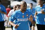 Inter Milan's Adriano
