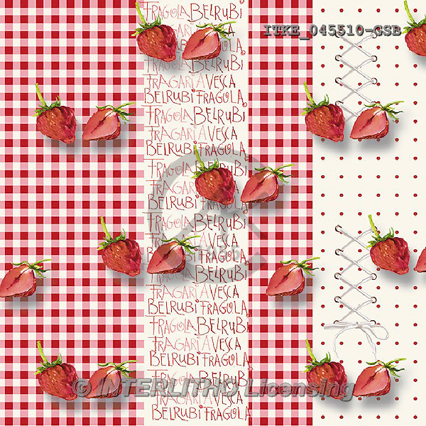 Isabella, MODERN, MODERNO, paintings+++++,ITKE045510-GSB,#n#<br /> strawberries ,everyday