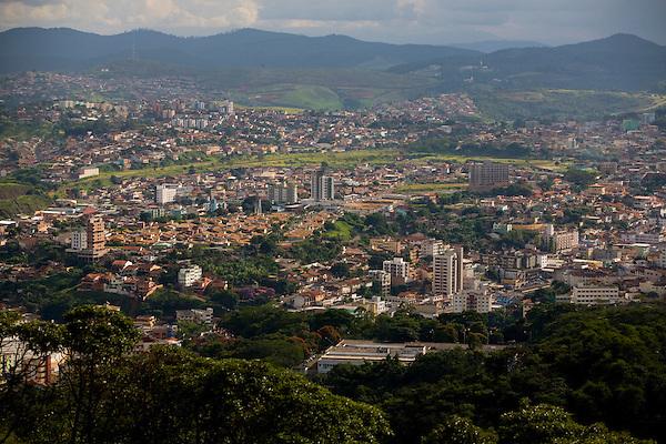 Itabira_MG, Brasil...Vista panoramica de Itabira...The Itabira panoramic view...Foto: LEO DRUMOND /  NITRO