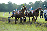 DRAFSPORT: JOURE: Harddraverij en Renvereniging Joure, 13-07-2012, Swipedei, draverij Fjouwer fan e Jouwer, winnaar Willem Steur met het paard Wammes (#5), ©foto Martin de Jong