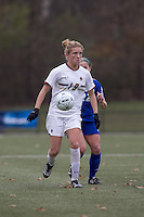 Boston College forward Kristen Mewis (19) at midfield. Boston College defeated Hofstra University, 3-1, in second round NCAA tournament match at Newton Soccer Field, Newton, MA.