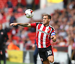 Billy Sharp of Sheffield Utd during the League One match at Bramall Lane Stadium, Sheffield. Picture date: September 17th, 2016. Pic Simon Bellis/Sportimage