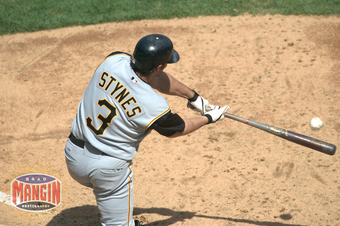 Chris Stynes. Baseball: Pittsburgh Pirates vs San Francisco Giants. San Francisco, CA 5/15/2004 MANDATORY CREDIT: Brad Mangin/MLB Photos