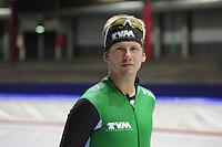 SCHAATSEN: HEERENVEEN: Thialf, 25-06-2012, Zomerijs, TVM schaatsploeg, portret Douwe de Vries, ©foto Martin de Jong