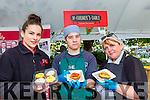 Majella Browne Super Valu, damian Gozegrazak and Phil doyle The Farmers Table offering treats at the Flavour of Killorglin festival on Saturday