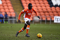 Blackpool's Dan Agyei in action<br /> <br /> Photographer Richard Martin-Roberts/CameraSport<br /> <br /> The EFL Sky Bet League One - Blackpool v Walsall - Saturday 10th February 2018 - Bloomfield Road - Blackpool<br /> <br /> World Copyright &not;&copy; 2018 CameraSport. All rights reserved. 43 Linden Ave. Countesthorpe. Leicester. England. LE8 5PG - Tel: +44 (0) 116 277 4147 - admin@camerasport.com - www.camerasport.com