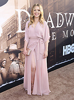 "14 May 2019 - Hollywood, California - Jade Pettyjohn. HBO's ""Deadwood"" Los Angeles Premiere held at the Arclight Hollywood. Photo Credit: Birdie Thompson/AdMedia"