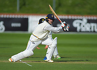 Otago's Dale Phillips bats during day two of the Plunket Shield cricket match between the Wellington Firebirds and Otago Volts at the Basin Reserve in Wellington, New Zealand on Tuesday, 22 October 2019. Photo: Dave Lintott / lintottphoto.co.nz