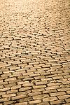 Cobblestone walkway detail