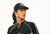 August 21, 2004; Dublin, OH, USA;  14 year old amateur Michelle Wie during the 3rd round of the Wendy's Championship for Children golf tournament held at Tartan Fields Golf Club.  <br />Mandatory Credit: Photo by Darrell Miho <br />&copy; Copyright Darrell Miho