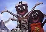Hershey, PA, Hershey Chocolate World, Entrance Signs