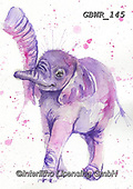 Simon, REALISTIC ANIMALS, REALISTISCHE TIERE, ANIMALES REALISTICOS, innovative, paintings+++++a_KatherineW_SplatterBabyElephant,GBWR145,#a#, EVERYDAY,elephant