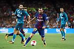 Supercopa de Espa&ntilde;a - Ida.<br /> FC Barcelona vs R. Madrid: 1-3.<br /> Aleix Vidal vs Isco.