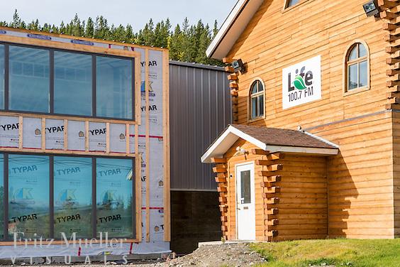 Renovation of Bethany Church in Whitehorse, Yukon. Architect: Northern Front Studio