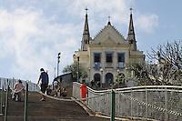 Rio de Janeiro,10 de Junho de 2012- Vista da Igreja Nossa Senhora da Penha.<br /> Guto Maia Brazil Photo Press