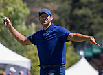 Tony Romo during the ACC Golf Tournament at Edgewood Tahoe Golf Course in South Lake Tahoe on Sunday, July 14, 2019.