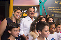 S&Atilde;O PAULO,SP, 17.02.2017 - ALCKMIN-SP - <br /> O governador de S&atilde;o Paulo Geraldo Alckmin acompanhado do prefeito da capital em exerc&iacute;cio durante inaugura&ccedil;&atilde;o da Sala &ldquo;Dinos do Brasil&rdquo; no Museu Catavento e entrega o restauro das fachadas do Pal&aacute;cio das Ind&uacute;strias, realizado com recursos do Fundo de Interesses Difusos (FID), ligado &agrave; Secretaria da Justi&ccedil;a na regi&atilde;o central de S&atilde;o Paulo nesta sexta-feira,17 . (Foto: Danilo Fernandes/Brazil Photo Press)