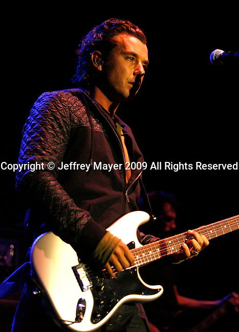 HOLLYWOOD, CA. - April 09: Gavin Rossdale performs at the 2009 Grammy Celebration Concert Tour presented by T-Mobile Sidekick at the Hollywood Palladium on April 9, 2009 in Hollywood, California.