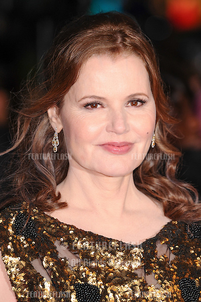 Geena Davis at the BFI London Film Festival premiere of &quot;Suffragette&quot; at the Odeon Leicester Square, London.<br /> October 7, 2015  London, UK<br /> Picture: Steve Vas / Featureflash