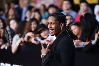 "WESTWOOD, LOS ANGELES, CA, USA - MARCH 18: ASAP Rocky at the World Premiere Of Summit Entertainment's ""Divergent"" held at the Regency Bruin Theatre on March 18, 2014 in Westwood, Los Angeles, California, United States. (Photo by Xavier Collin/Celebrity Monitor)"