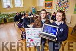 Presentation Secondary School Castleisland TY Students Ellen Sheehan and Rachael O'Connor  presented an internet safety workshops at the School on Tuesday