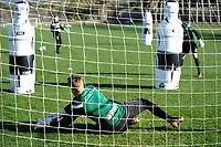 SOTOGRANDE  - Voetbal, Trainingskamp FC Groningen, seizoen 2017-2018, 11-01-2018,  FC Groningen doelman Segio Padt