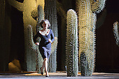 22/04/2015. London, England. Tanztheater Wuppertal Pina Bausch perform the UK Premiere of Ahnen at Sadler's Wells Theatre. Performances from 23 to 26 April 2015. Photo credit: Bettina Strenske - STRICTLY EDITORIAL USE ONLY