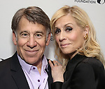 Stephen Schwartz and Judith Light attends the 2019 DGF Madge Evans And Sidney Kingsley Awards at The Lambs Club on March 18, 2019 in New York City.