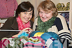 Knitting Group: Getting ready for the new Listowel knitting club on Friday were Mairead White, Ashfield, Listowel, with Kathy Maher, Listowel..