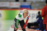 SPEED SKATING: INZELL: 04-12-2015, Max Aicher Arena, ISU World Cup, 3000m Ladies, B-division, Francesca Lollobrigida (ITA), ©foto Martin de Jong