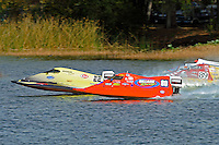 Roddy Foreman (#22) and Brent Dillard, (#80) lead the field away from the start. (SST-60)