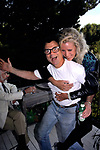 Robert Blake and Sally Kirkland attend a party at the house of Dale Olson in Los Angeles, California on<br /> August 1, 1988.