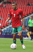 Men's Olympic Football match Honduras v Morocco on 26.7.12...During the Honduras v Morocco Men's Olympic Football match at Hampden Park, Glasgow..................