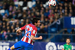 "Atletico de Madrid's Nico Gaitan  during the match of ""Copa del Rey"" between Atletico de Madrid and Gijuelo CF at Vicente Calderon Stadium in Madrid, Spain. december 20, 2016. (ALTERPHOTOS/Rodrigo Jimenez)"