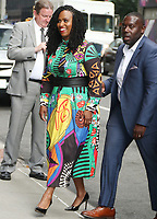 NEW YORK, NY- August 13: Ayanna Pressley U.S. Representative for Massachusetts's 7th congressional district at The Late Show with Stephen Colbert in New York City August 13, 2019 Credit: RW/MediaPunch